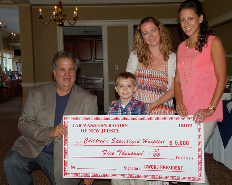 CWONJ raises $5,000 at Children's Specialized Hospital 14th Annual Golf Outing in Union.