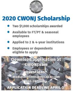 CWONJ Scholarship